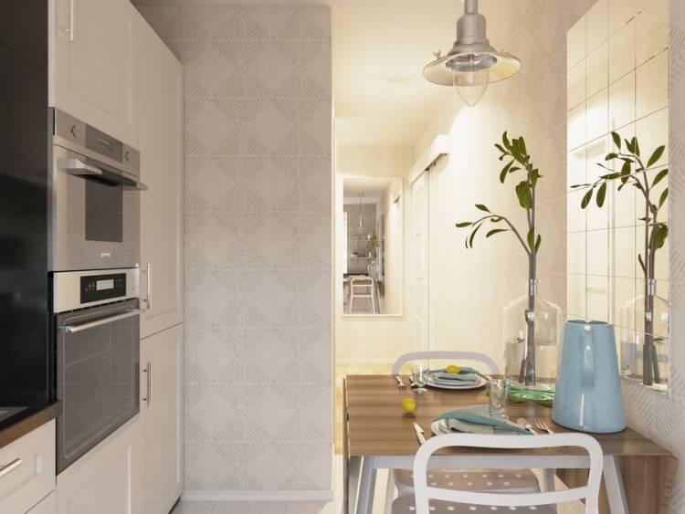 Обои для маленькой кухни 6 кв м