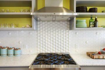Идеи что можно сделать вместо фартука на кухню