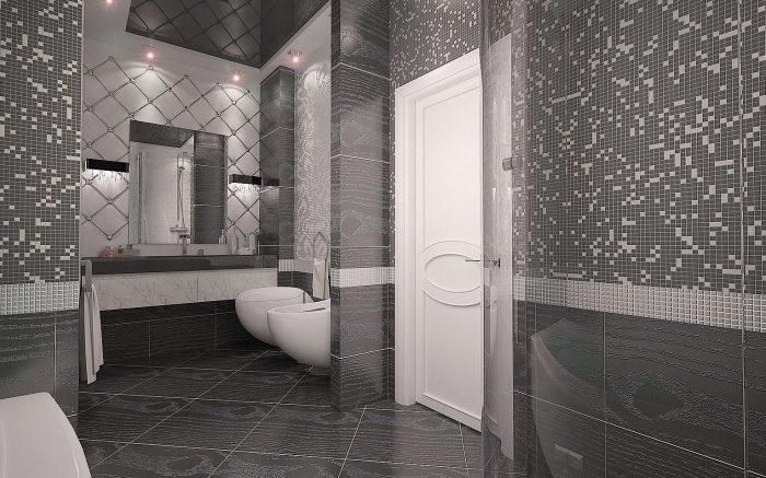 Красивый дизайн ванной