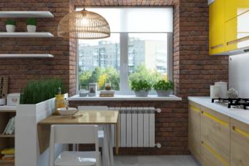 Бюджетные идеи дизайна кухни