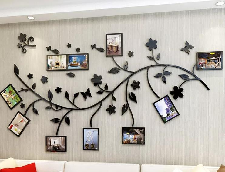 Идеи для стены в комнате
