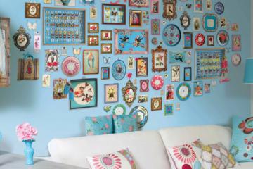 Идеи для оформления стены в комнате с фото