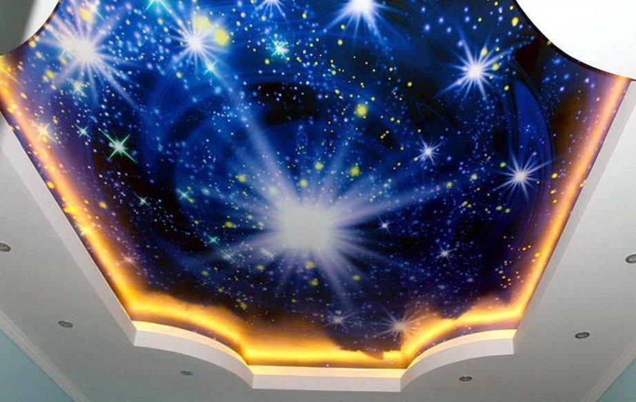 Эффект звездного неба