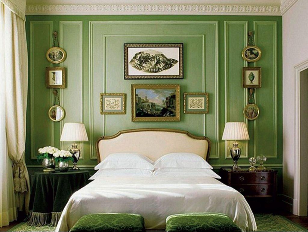 зеленные стены