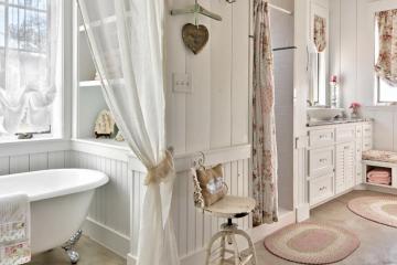 Как оформить ванную комнату в стиле Прованс
