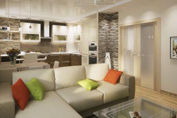 Варианты дизайна интерьера трехкомнатной квартиры в 2021 году