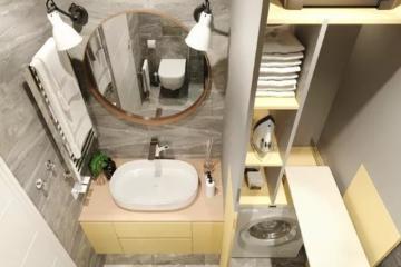 Дизайн туалета 2 кв. метров и модные идеи 2021 года