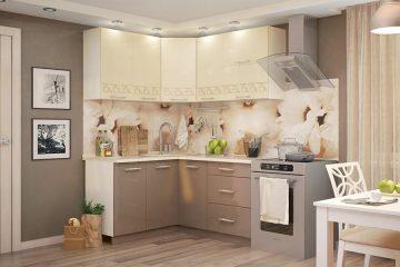 Кухонный гарнитур латте