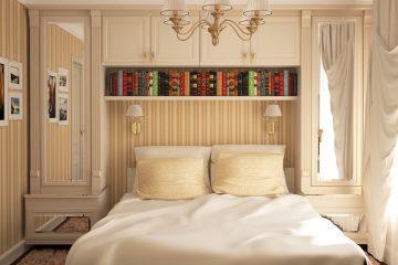 Современные идеи дизайна маленькой спальни в 2021 году