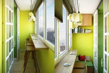 Как обустроить узкий балкон в квартире