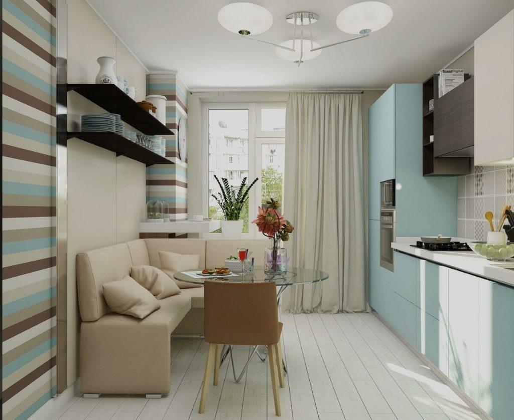 Дизайн кухни 10 кв. метров